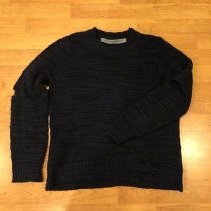 Raquel Allegra Shredded Sweater
